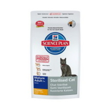 Hill-s-Feline-sterilised-cat-mature-chicken-Hrana-za-starije-sterilisane-macke-300gr